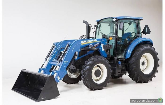 New Holland обновил линейку садовых тракторов T4 FNV