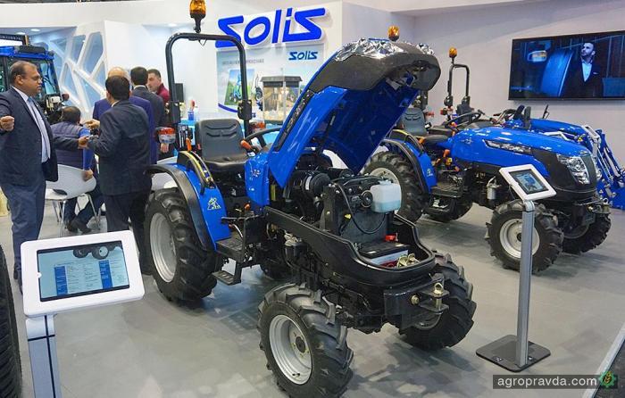 В Украину пришел новый бренд тракторов