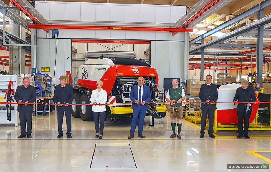 Pöttinger открыл свой четвертый завод