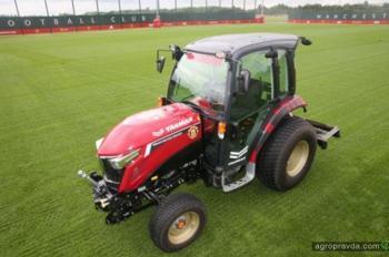 Yanmar выпустил трактор «Манчестер Юнайтед»
