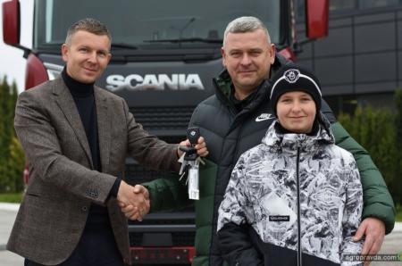 Аграрий продолжает приобретать ТОПовые версии Scania