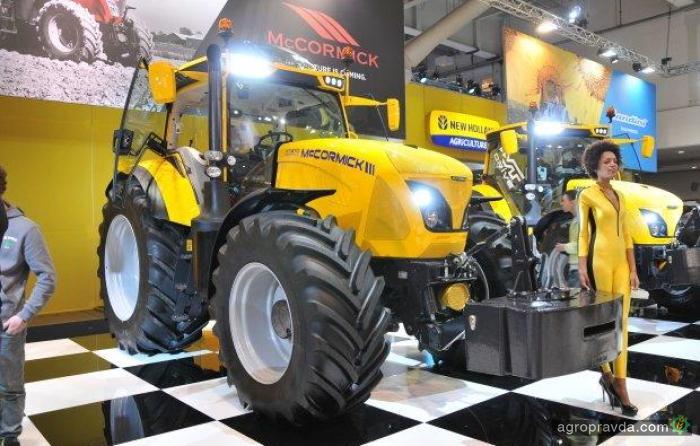 McCormick показал желтую серию тракторов