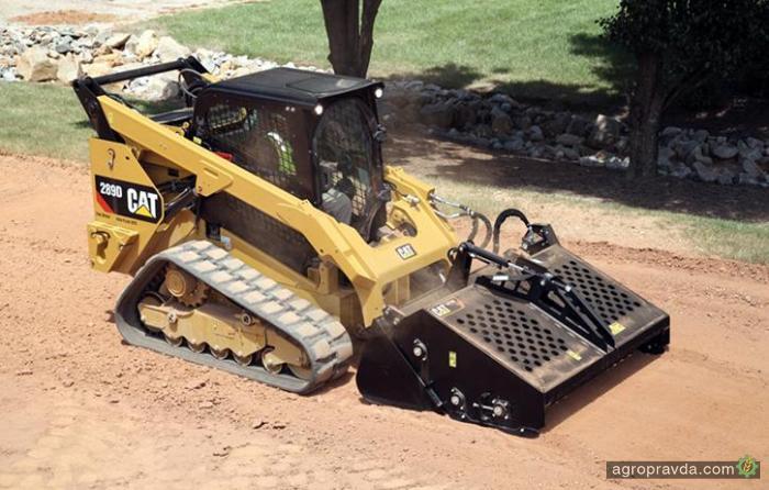 Cat представил линейку гусеничных погрузчиков D Series