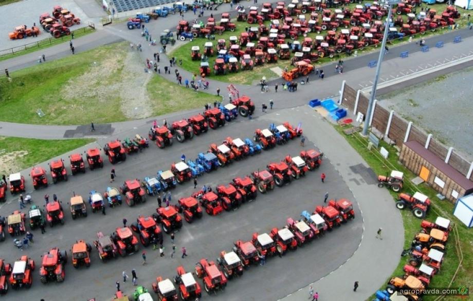 Самые яркие премьеры тракторов в Украине в 2020 г.