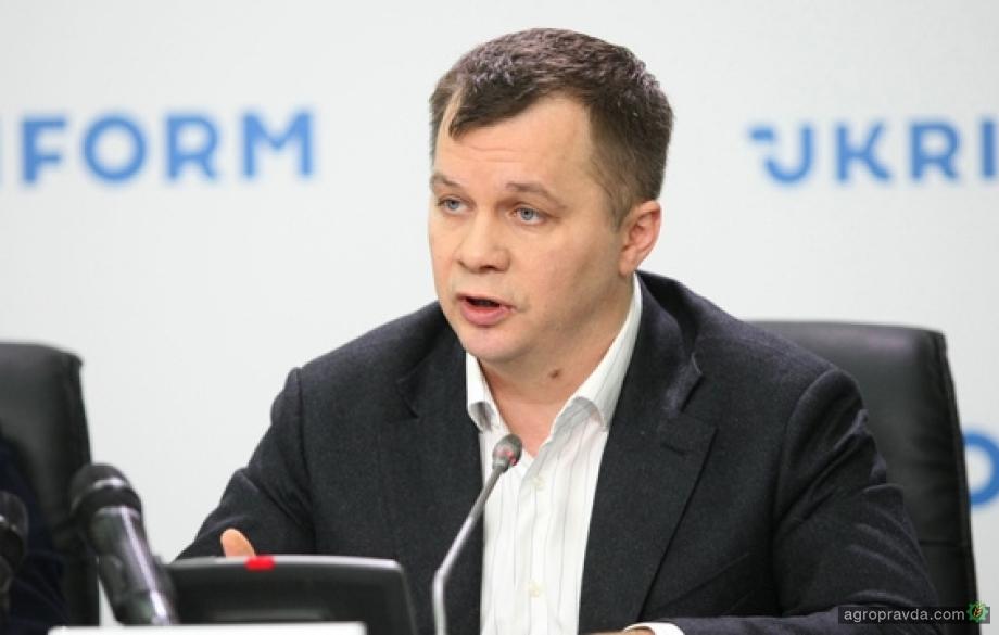 Милованов рассказал почему сейчас не время выделять Минагрополитики