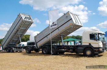 Scania продемонстрировала автопоезд-зерновоз