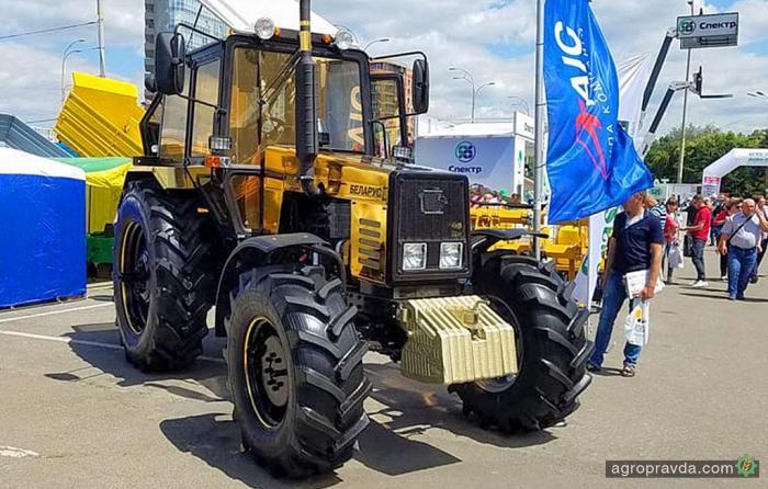 Золотой трактор МТЗ. Видео