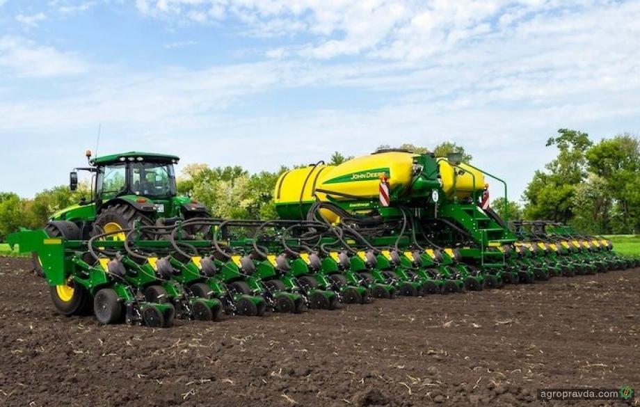 John Deere рассказал о новом мировом рекорде посева