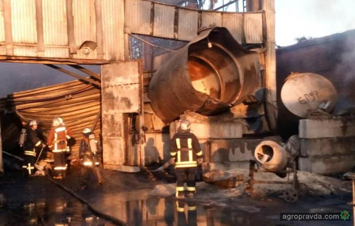 Стало известно, что действительно горело у завода «Росава»