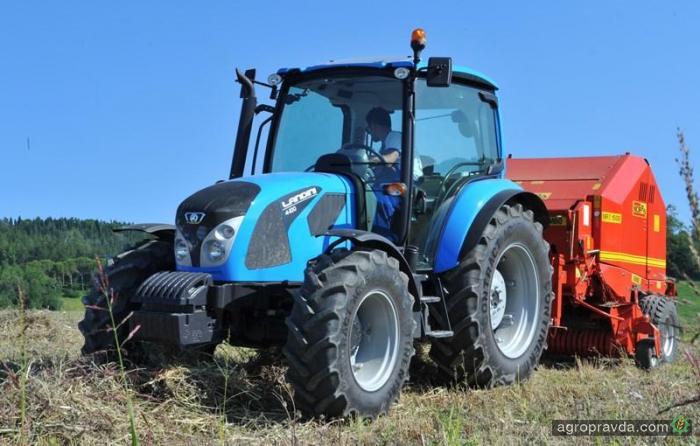 Landini расширил 4-й серию тракторов