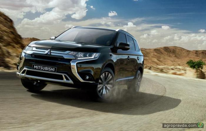 Обновленный Mitsubishi Outlander уже в Украине
