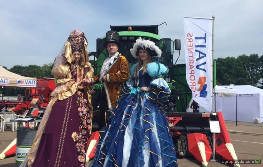 VAIT Agropartners представил технику на AGROSHOW Ukraine