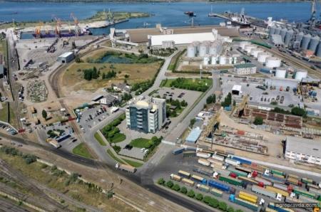 Порт «Ника-Тера» начал прием пшеницы нового урожая