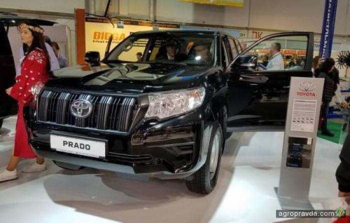 Toyota представила в Украине аграрный Prado