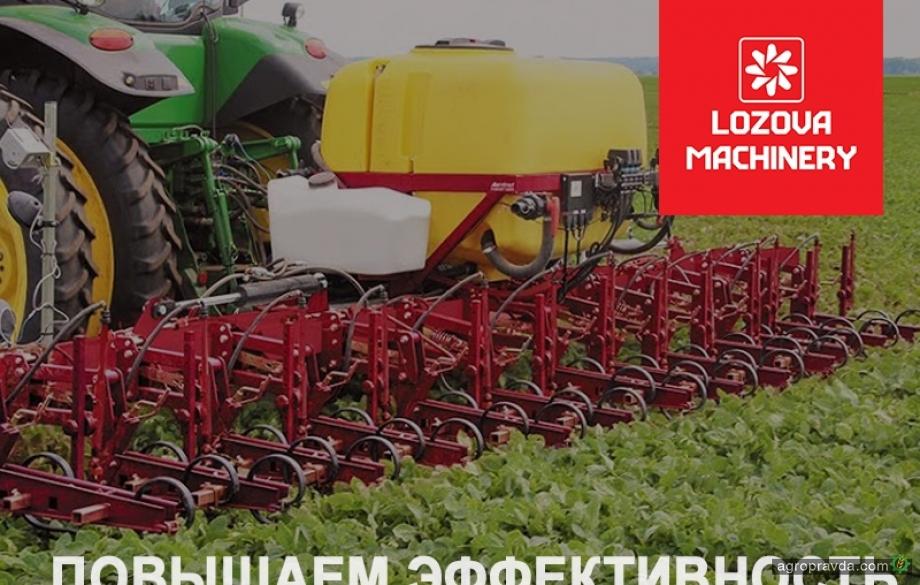 Lozova Machinery повышает эффективность: аппликаторы для внесения жидких удобрений