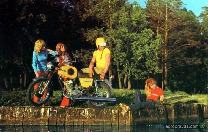 Тест на знания мотоциклов времен СССР