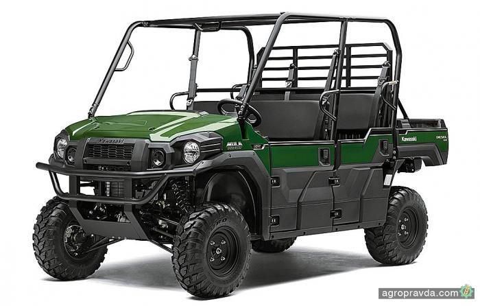На рынок выходит новый Kawasaki Mule
