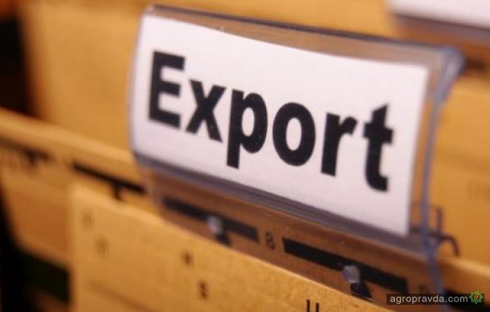 Экспорт сельхозтоваров в ноябре составил 53% общего экспорта Украины
