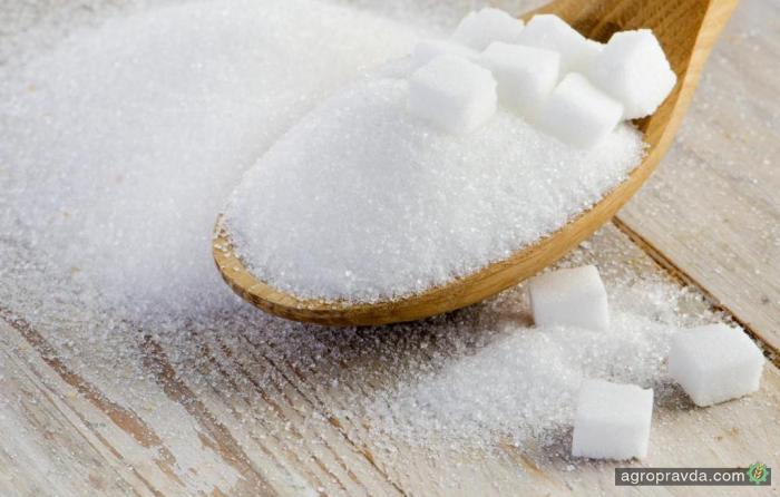 Украина сократила экспорт сахара на 44%
