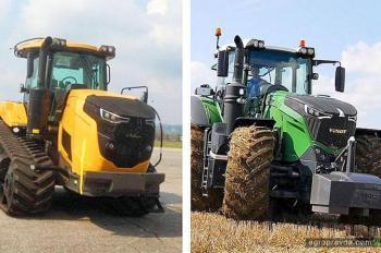В сети появились шпионские фото нового трактора AGCO