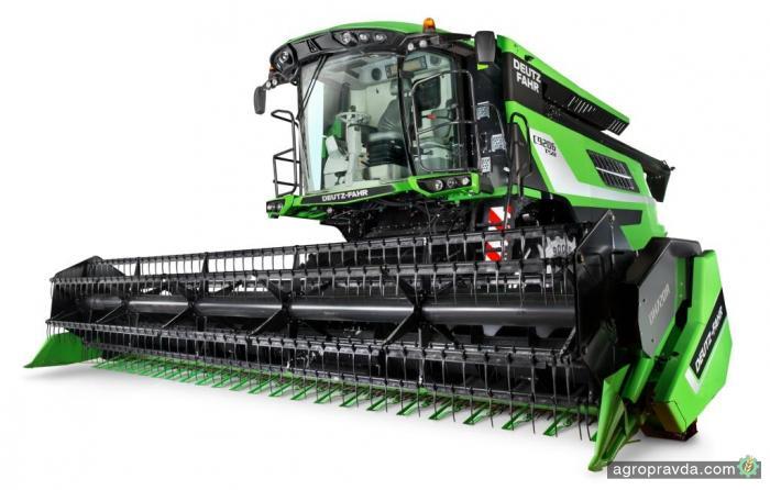 Deutz-Fahr запускает в производство новый комбайн C9000