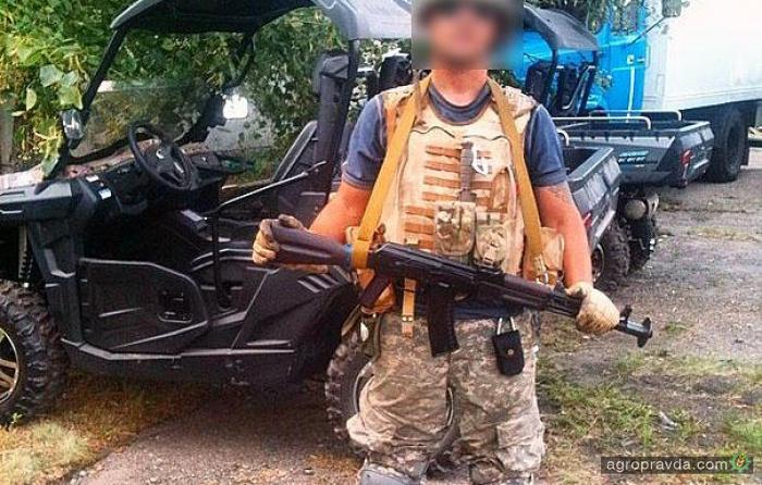 У украинских разведчиков на вооружении тоже появились квадроциклы