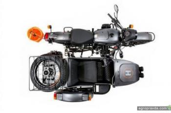 ИМЗ выпустил мотоцикл Урал с квадрокоптером