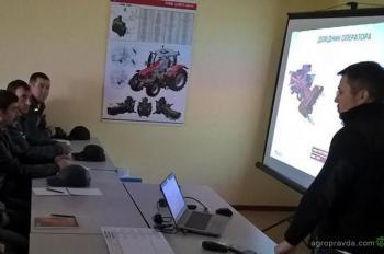 Проведено обучение операторов комбайнов Massey Ferguson