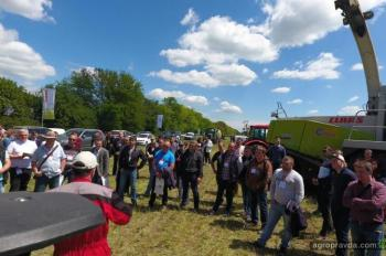 На Дне фермы представили флагманов CLAAS