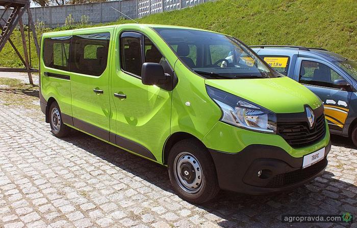 В Украине представлены новые коммерческие Renault для фермеров
