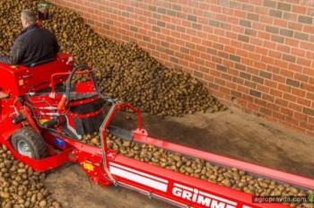 Grimme разработал новый подборщик картофеля