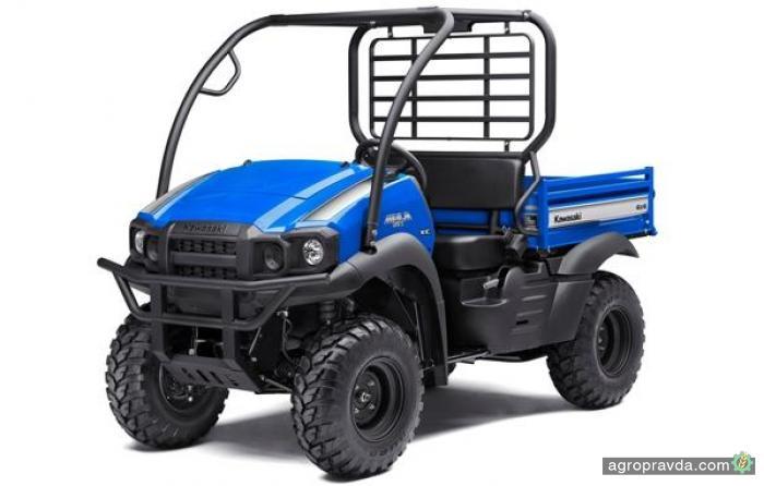 Kawasaki обновил линейку фермерских ATV