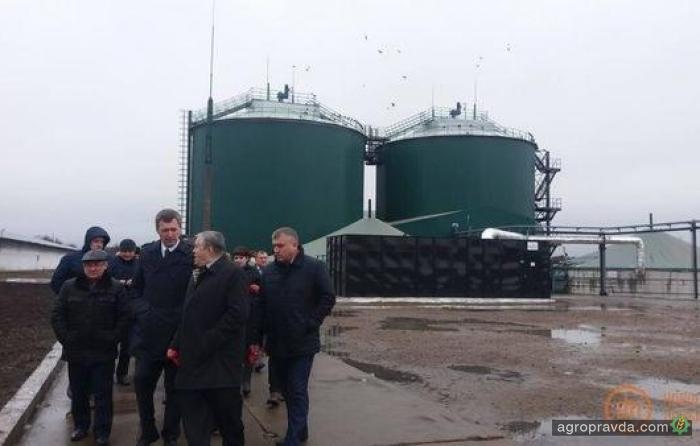 В Донецкой области открыли новый биогазовый завод