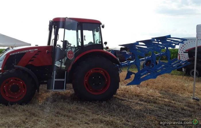 Трактор Zetor на Сумском региональном Дне Поля. Фото