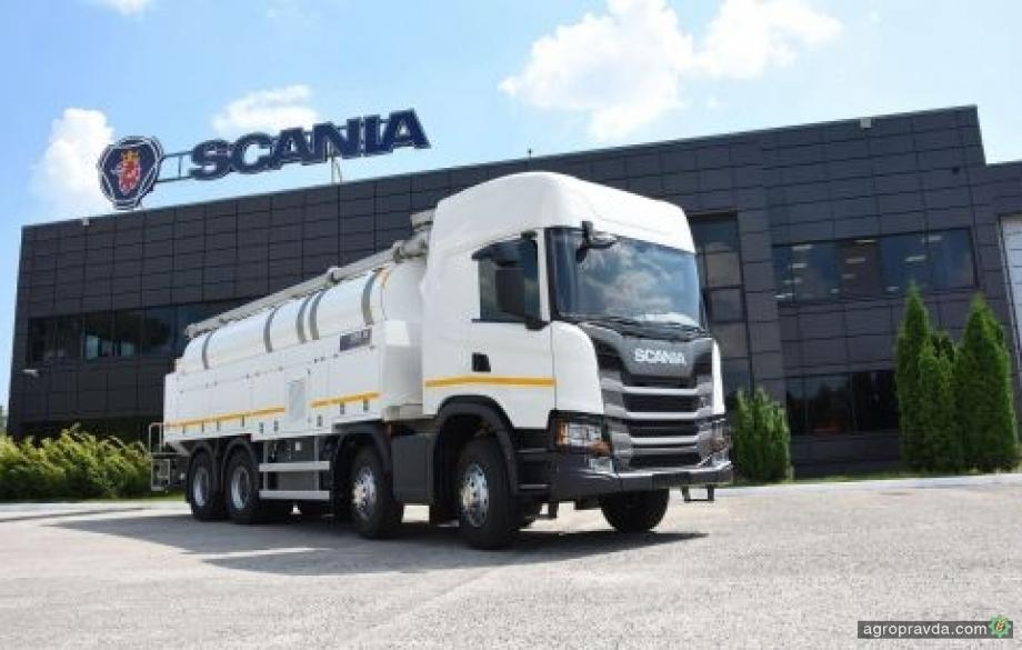 В Украине реализован самый дорогой грузовик в истории Scania