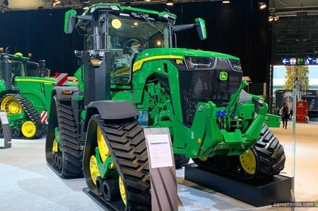 Самый совершенный трактор John Deere начинает выходить на рынки