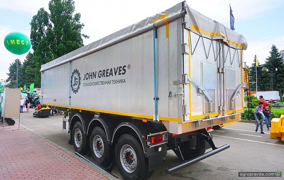 Чем интересен алюминиевый полуприцеп-зерновоз от John Greaves