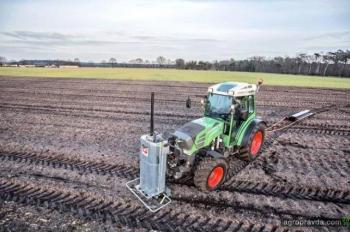 Автономный трактор Fendt вышел на поля