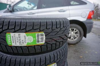 Начинаем тест зимних шин Nokian Hakkapeliitta R2 SUV