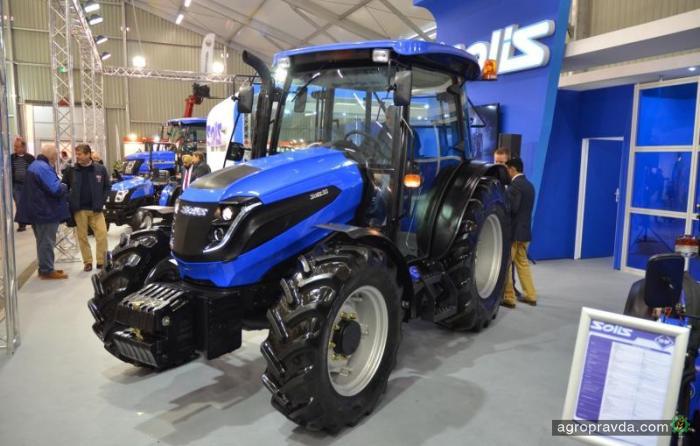 Solis выпустил первый трактор Euro-4