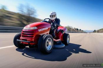 Сенокосилка Honda развила скорость 187,6 км/ч