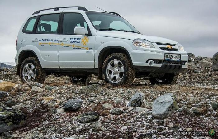 Новая версия Chevrolet Niva появится в Украине