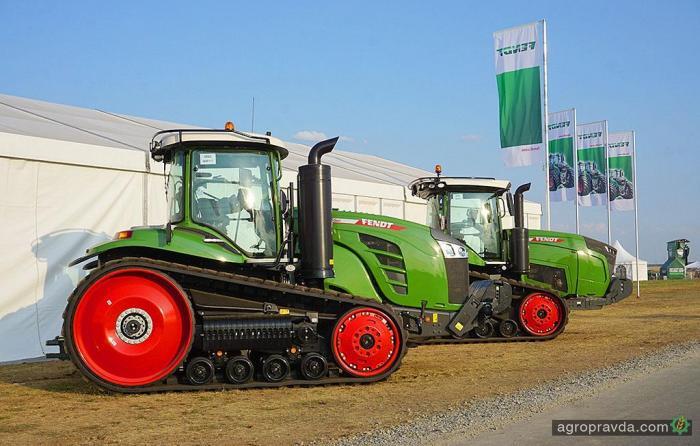 Гусеничные тракторы Fendt официально выйдут на рынок Украины