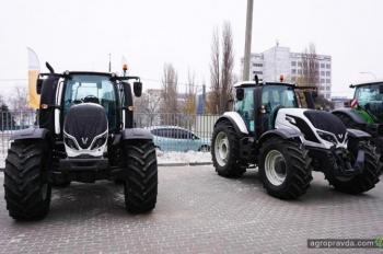 В Украине состоялась первая презентация тракторов Valtra