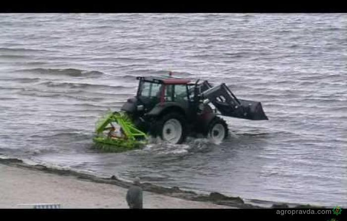 Морской трактор: видео
