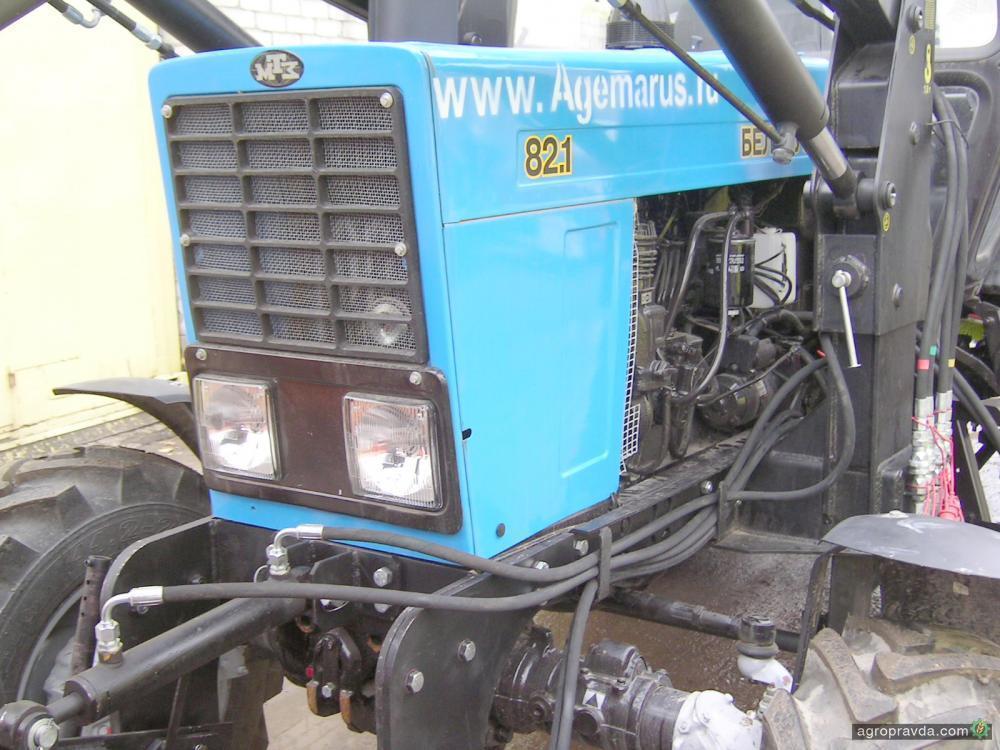 Bing: Трактор МТЗ 82б