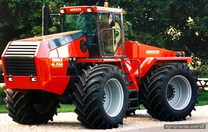 Уникальный трактор Horsch. Фото