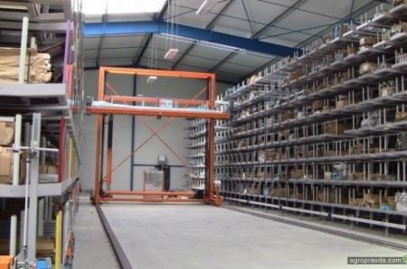 Claas сокращает время доставки запчастей по всему миру