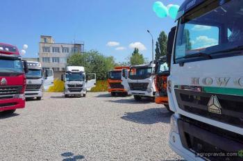 В Украине открылся первый автосалон Sinotruk