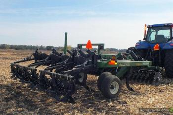 Тест-драйв турбо-чизеля Great Plains TC5111